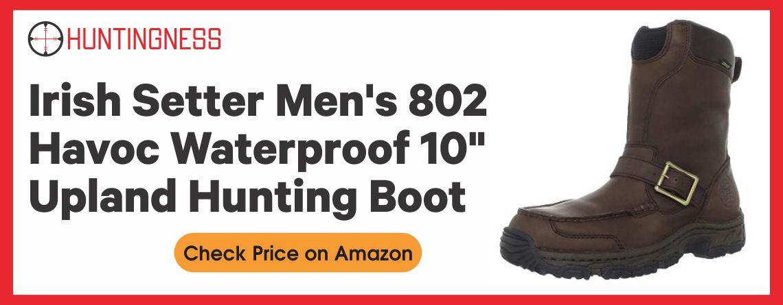 """Irish Setter Men's 802 Havoc Waterproof 10"""" Upland Hunting Boot"""