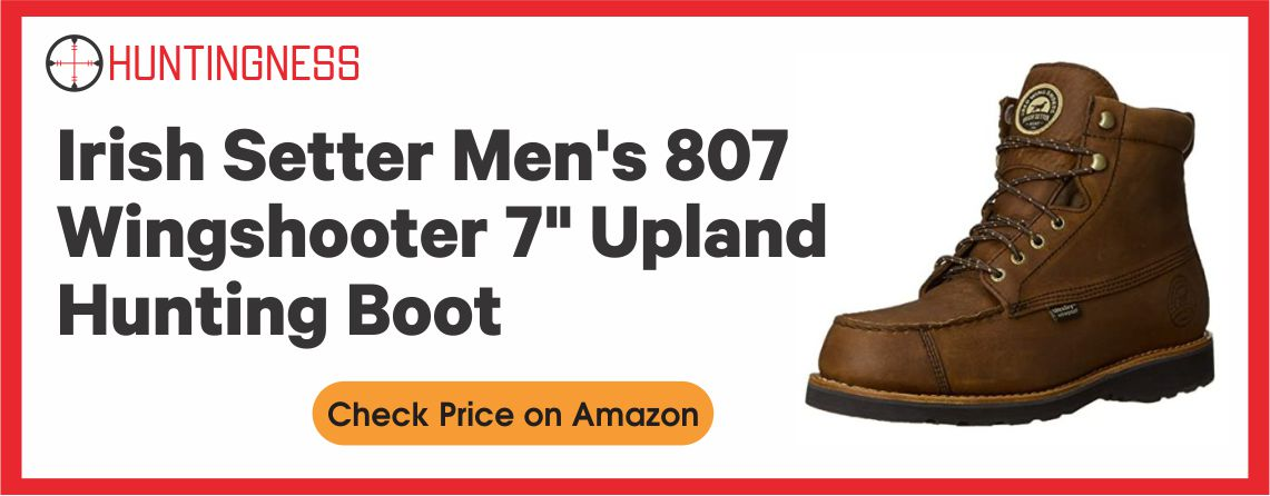 Irish Setter Wing Shooter - Best Upland Hunting Boots