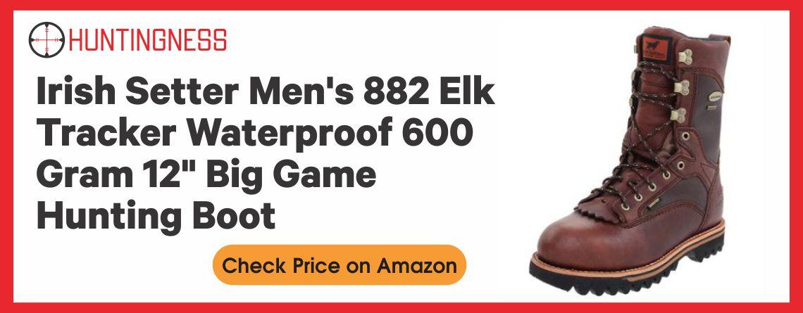 "Irish Setter Men's 882 Elk Tracker Waterproof 600 Gram 12"" Big Game Hunting Boot"