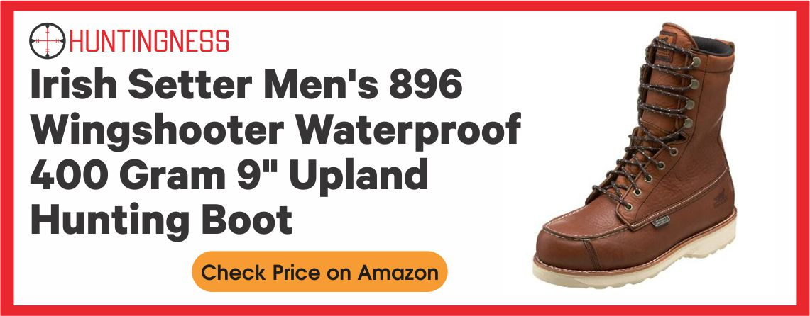 Irish Setter Wingshooter - Best Upland Hunting Boots for Men