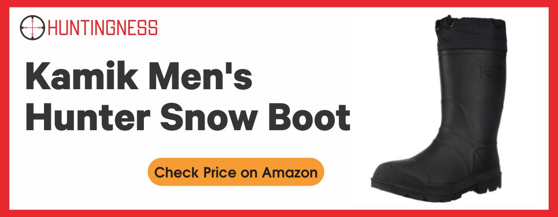 Kamik Men's - Best Hunting Boots for Snow