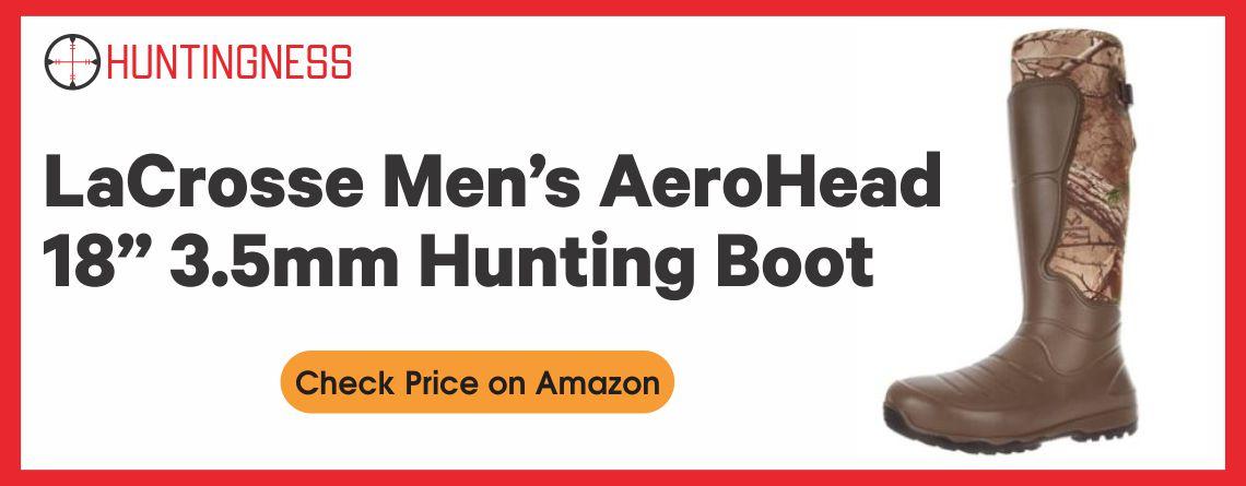 "LaCrosse Men's AeroHead 18"" 3.5mm Hunting Boot"