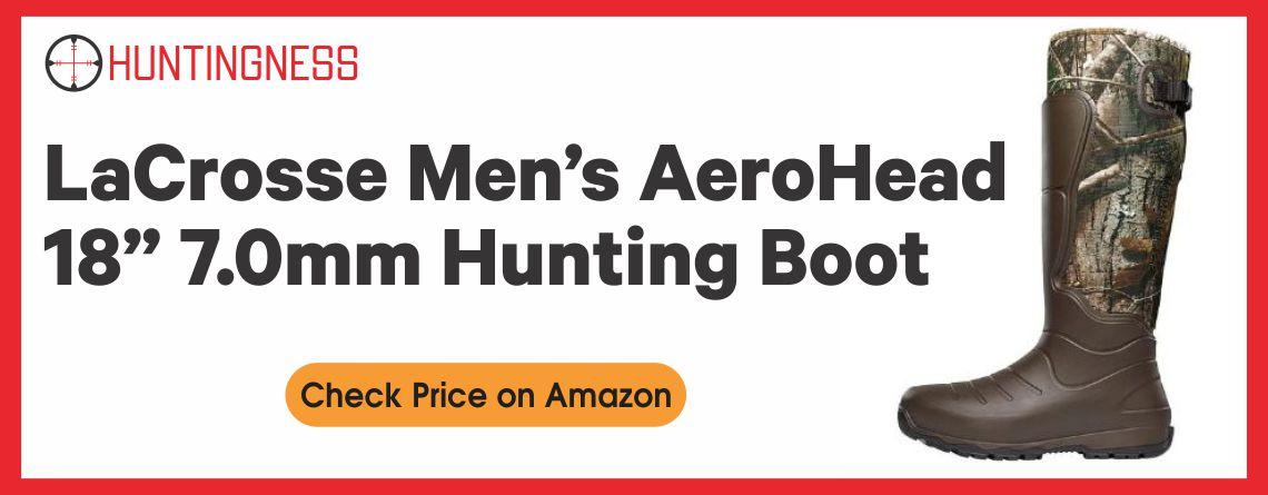 "LaCrosse Men's AeroHead 18"" 7.0mm Hunting Boot"