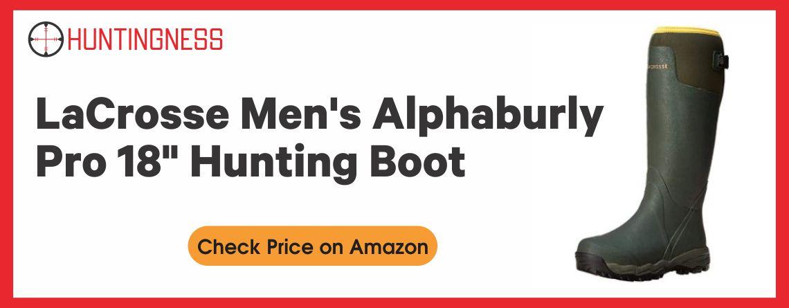 "LaCrosse Men's Alphaburly Pro 18"" Hunting Boot"