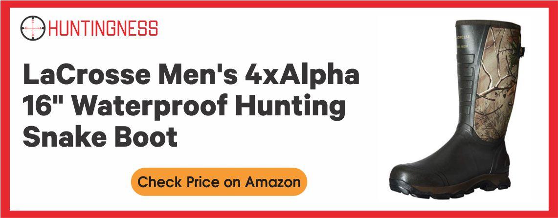 LaCrosse Men's - Best Hunting Snake Hunting Boot