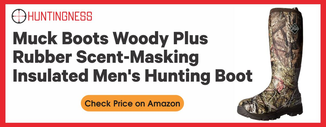 Muck Boots Woody Plus Rubber Scent-Masking Insulated Men's Hunting Boot