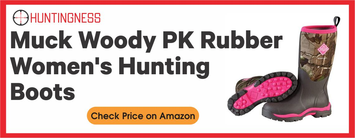 Muck Wood - Best Rubber Hunting Boots for Women