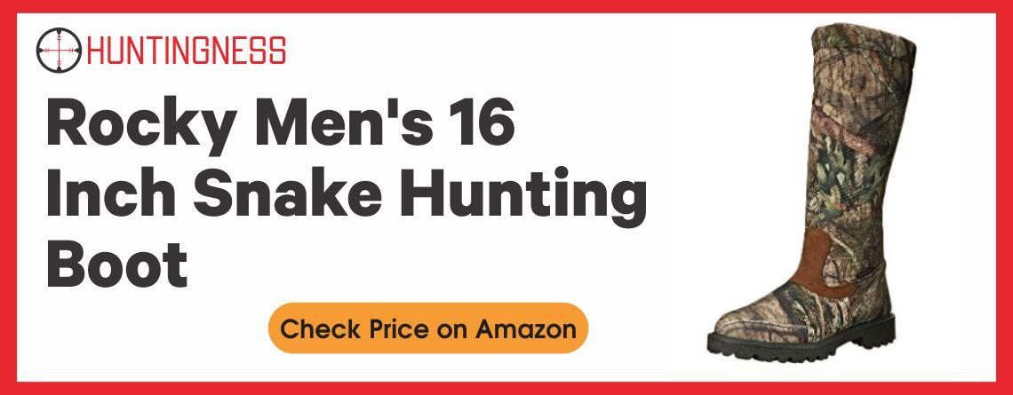 Rocky Men's - Best Snake Hunting Boot