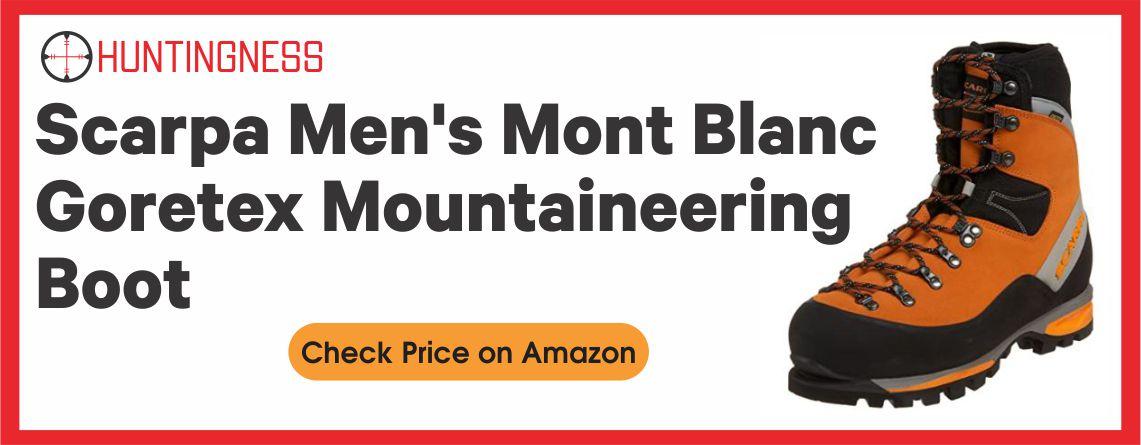 Scarpa Men's Mont Blanc Goretex Mountaineering Boot