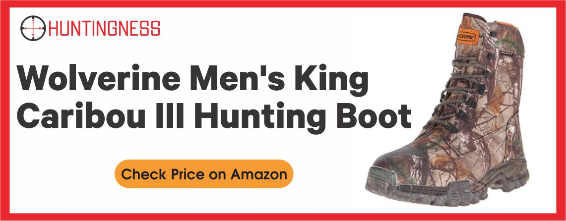 Wolverine King Caribou - III Men's Hunting Boot