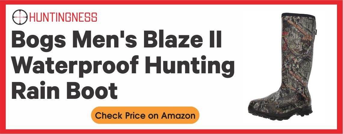 Bogs Men's Blaze II Waterproof Hunting Rain Boot