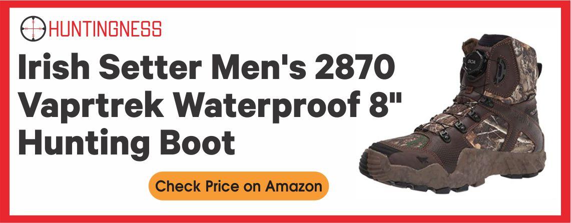 "Irish Setter Men's 2870 Vaprtrek Waterproof 8"" Hunting Boot"