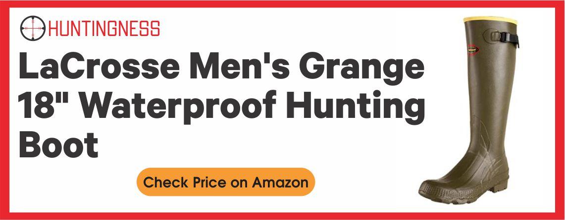 """LaCrosse Men's Grange 18"""" Waterproof Hunting Boot"""