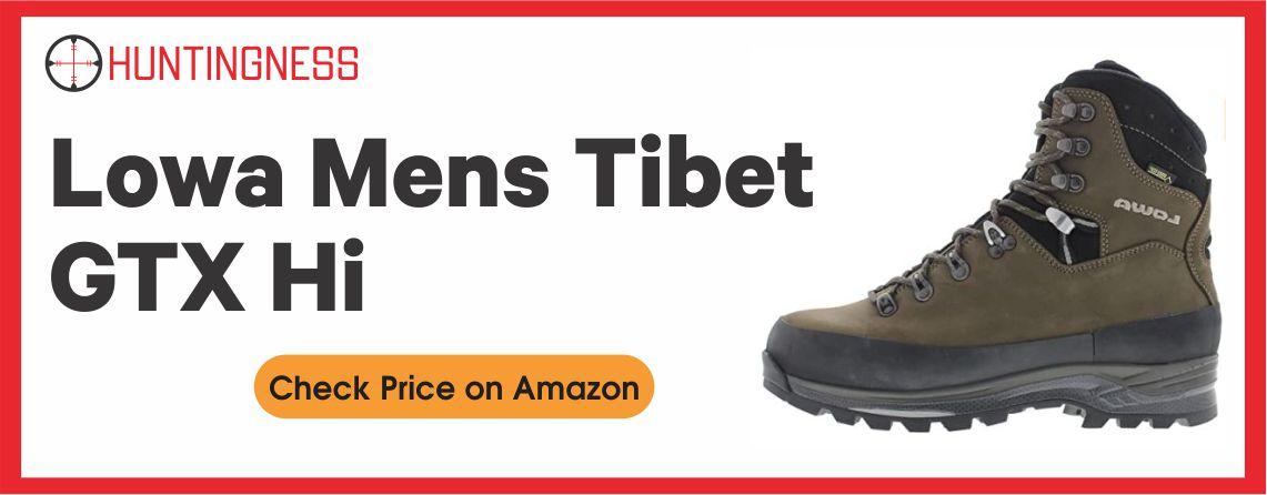 Lowa Boots Tibet GTX Hi Best Hunting boots for walking 2021