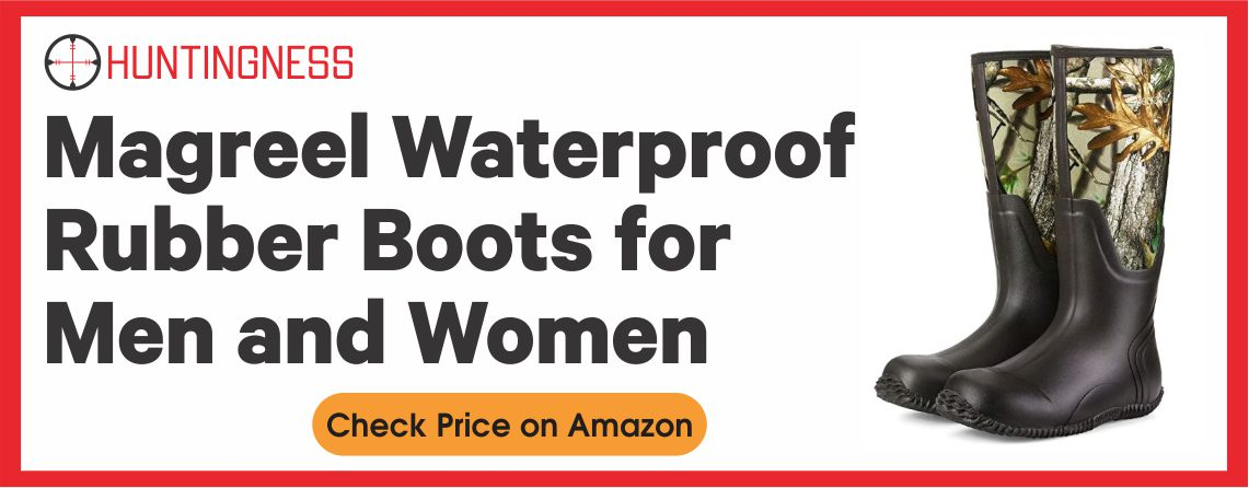 Magreel Waterproof Rubber Boots for Men and Women