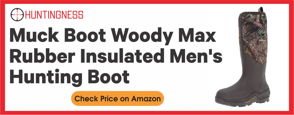 Muck Boot Woody Best Rubber Hunting Boots for Walking