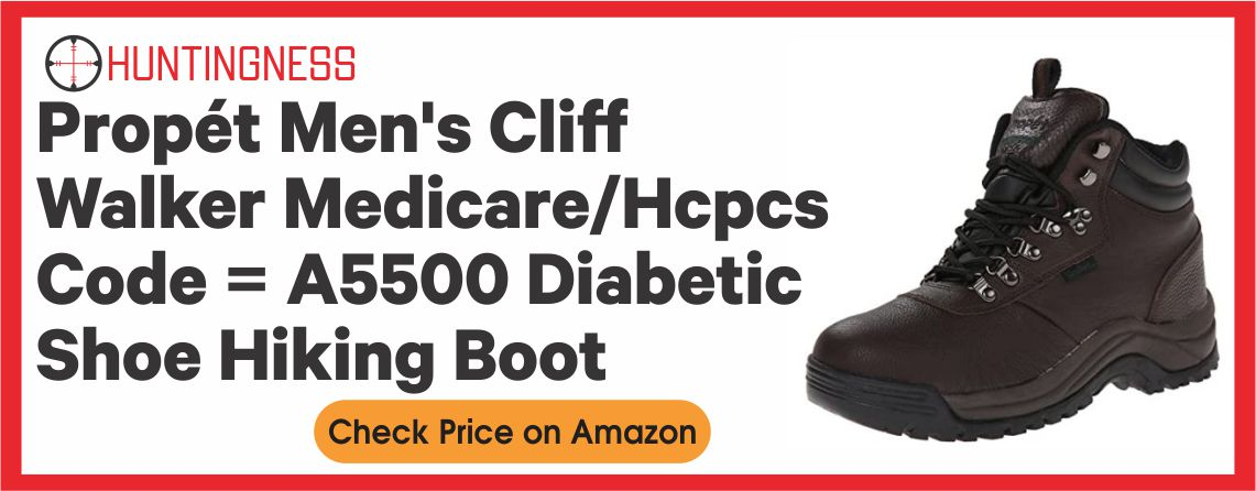 Propet Cliff Walker - Best Diabetic Hunting Boots