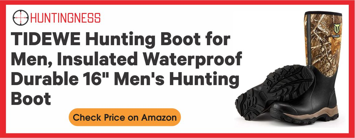 """TIDEWE Hunting Boot for Men, Insulated Waterproof Durable 16"""" Men's Hunting Boot"""