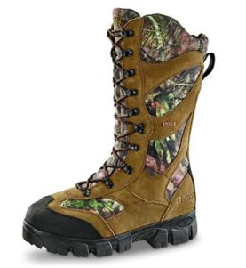 Guide Gear Giant Timber II Men's Insulated Waterproof Hunting Boots, 1,400-gram, Mossy Oak