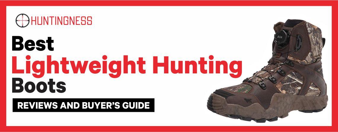 7 Best Lightweight Hunting Boots 2021 Reviews