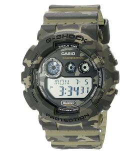G-Shock GD-120 Camo hunting watch